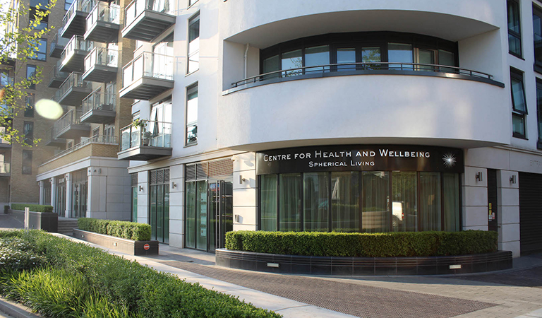 Centre for Health and Wellbeing - Spherical living